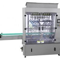 十二头直流式液体灌装机-12头液体灌装生产线