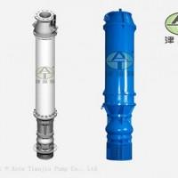 津奥特厂家供应水池内抽水下吸式潜水电泵