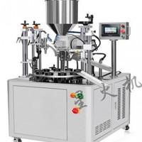 耦合剂软管灌装封尾机 耦合剂自动灌装机
