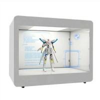 """透明屏展示柜-让产品展示""""动""""起来——晶视科"""