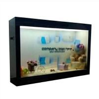 未来生活透明展示柜更加精彩——晶视科