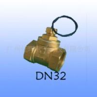 进口簧管 DN32管螺纹 黄铜加厚 水流量开关