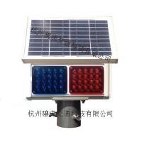 太阳能两灯爆闪灯 led交通安全警示灯价格