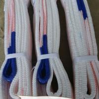 河北立诗顿1吨2米白色吊装带 扁平吊装带规格厂家