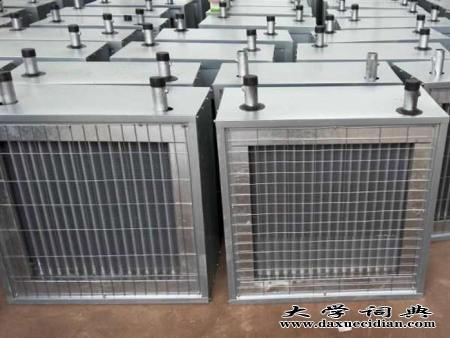 铜管水热暖风机