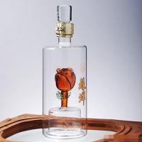 河北玻璃工艺白酒瓶源头生产厂家