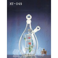 广东手工艺玻璃酒瓶厂家直营 宏艺玻璃值得信赖