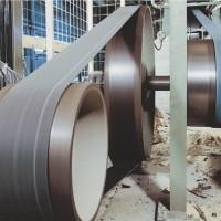 江苏木工刨片机传动皮带供应商 木工大型砂光机生产厂家 高品质木工皮带 汉唐供