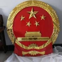 安装在办公室/会议室会场警徽生产 严格把控大型警徽制作