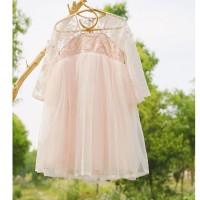 淘努猪女童夏装汉服连衣裙超仙洋气薄款中国风小女孩公主裙