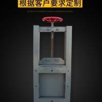 碳钢方口圆口手动插板阀 不锈钢镀锌气动电动闸板阀