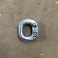 起重链条双抱扣/不锈钢D型链条连接扣/链条双抱扣