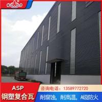 防腐覆膜板 山东滕州塑钢彩钢瓦 psp复合耐腐板安装方法