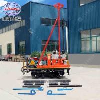 供应YQZD-30型橡胶履带式岩芯取样钻机30米轻便液压钻机