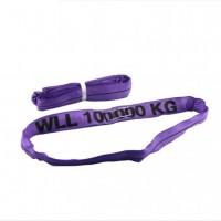 环形柔性吊装带,彩色起重吊装带,圆套吊带8吨5米