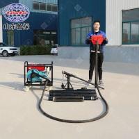 鲁探柴油机取土钻机QTZ-4环境检测取土样钻机
