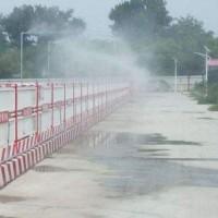城市绿化雾森造景,城市公园喷雾加湿造景,人工造雾设备