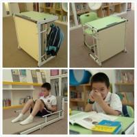 单人学生课桌床_桌床一体学生课桌_贝德思科一体课桌