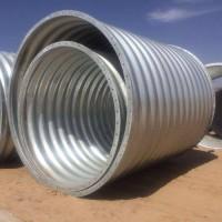 1米钢波纹管涵 镀锌波纹涵管生产厂家