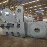 钢结构铸钢件的连接结构及其连接方法