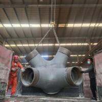 复杂空间铸钢节点钢结构施工方法