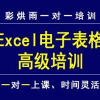 成都excel高级应用excel函数培训——彩烘雨一对一培训