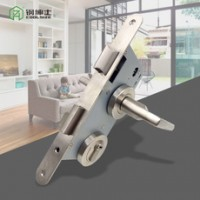 厂家销售304不锈钢门锁 卧室室内锁 美式静音分体锁批发