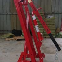 汽车发动机吊机/手动液压吊机/2t3t移动小吊机