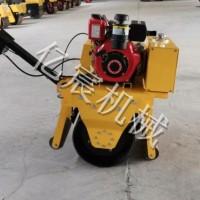 厂家手推式小型路面压土机