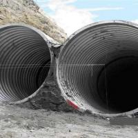 镀锌钢波纹管涵 直径5米钢波纹管涵厂家 价格