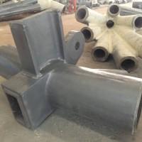 管桁架加工中铸钢件的加工