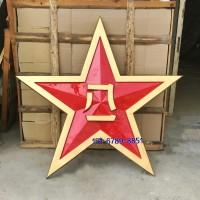 大型八一军徽生产制作厂家 大号立体八一徽军徽生产加工