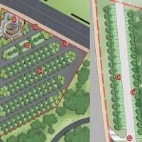 想做好停车场设计规划,先着手立体绿化吧