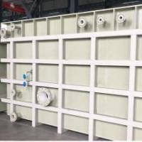 白色PP水箱耐酸碱防潮防水化工污水处理池定制焊接pp养殖箱