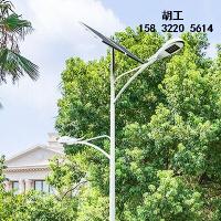 石家庄锂电太阳能路灯5米6米30瓦安装