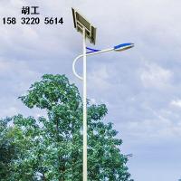 下花园农村5米太阳能路灯厂家卖多少钱一套