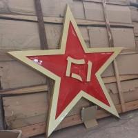 八一军徽生产厂家 镂空公安警徽制作银色警徽供应