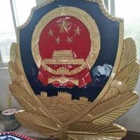 警徽制作环保妇联徽定做80公分铸铝警徽制作厂家