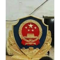 警徽生产厂家建议三楼一般用1.2米至1.5米大的警徽