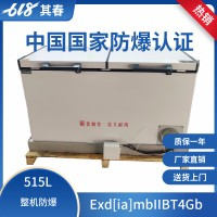 防爆冰箱515L卧式顶开门防爆冷藏冷冻柜BL-W515