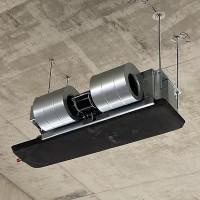 卧式暗装风机盘管,吊装式冷暖风机盘管,中央空调暗装风机盘管