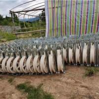 500放线滑车低报价 槽钢放线滑轮厂家