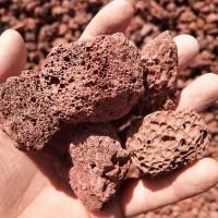 河南批发火山岩生物滤料 散装/吨包 多孔状废气吸附过滤