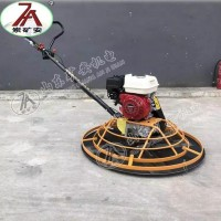 水泥地面手扶式汽油磨光机 混凝土抹光机 手扶式单盘收边机