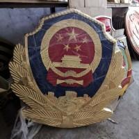看守所悬挂警徽制作,款式新颖