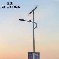 兰州农村6米太阳能路灯 甘肃小区太阳能led路灯4.5米杆