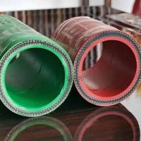 生产DN51无碳胶管红色绿色过冷却水用压力10KG绝缘4KV