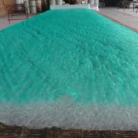 玻纤漆雾毡过滤棉绿白滤棉 烤漆房地棉喷烤漆房过滤棉玻纤棉