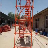 b2b平台爬梯型号 b2b平台爬梯施工要求 河北爬梯厂家供应
