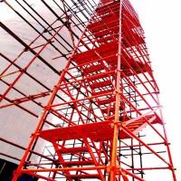 高速施工爬梯 桥梁箱式爬梯 烟囱爬梯 厂家支持定做